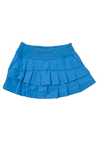 Price comparison product image Adorable Essentials FlutterFit Girls Cocoon Skirt - Sky Blue