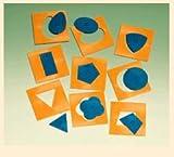 Montessori Shapes; 10 Shapes per Set; no. DD-81586, Baby & Kids Zone