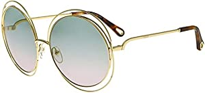 Sunglasses CHLOE CE 114 SD 751 GOLD/HAVANA/GRAD GREEN/ROSE LE