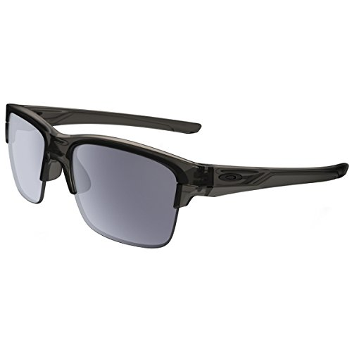 Oakley Men's Thinlink Rectangular Sunglasses, Grey Smoke, 63 - Casual Oakley Sunglasses