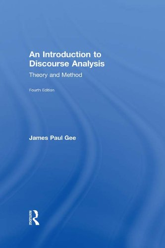An Introduction to Discourse Analysis: Theory and Method Pdf