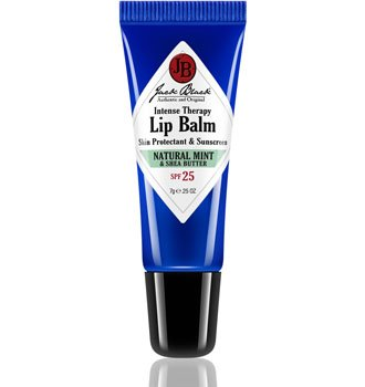 Jack Black Intense Therapy Lip Balm SPF 25, Natural Mint & Shea Butter, 0.25 - Therapy Antioxidant Butter
