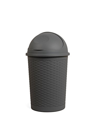 decorative garbage cans with lids - 5