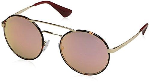 Prada PR51SS 2AU5L2 Sunglasses, Pale Gold/Dark Havana, 54mm