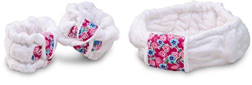 Dorothys Garden - DripKnots-Cotton Wristbands with Matching Headband (Zen Garden)