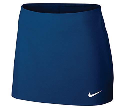 Nike Court Power Spin Tennis Skirt Blue Jay/White Women's Skort Size Medium ()