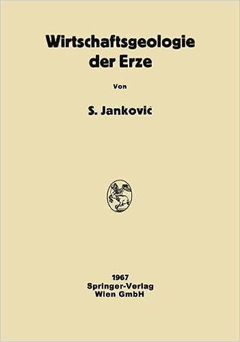 Book Wirtschaftsgeologie der Erze