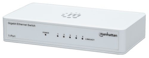 Manhattan 5-Port Gigabit Ethernet Switch (560696) from Manhattan Products