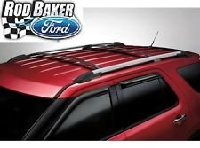 Ford Rails Roof (Oem Factory Stock 2011 2012 2013 2014 2015 Ford Explorer Roof Cross Bars Luggage Rack Kit)