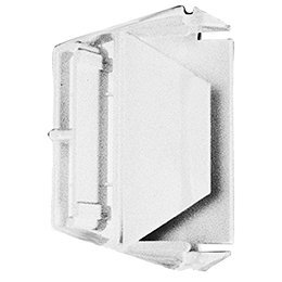 newlifeapp 215473602 Refrigerator Door Shelf End Cap Left or Right White Replacement For Frigidaire Electrolux Kenmore ERP White-Westinghouse Kelvinator Tappan Gibson