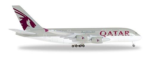 Herpa Wings 1   500 A380 Qatar Airways A7 Apb