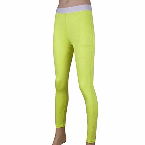 femmes sexy de yoga formation serres pantalons longs pantalons Gym Fitness de base de la sueur jeggings