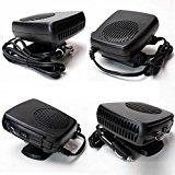 ixaer Car Fan Heater-12V Car Portable Ceramic Heating Cooling Heater Fan Defroster Demister