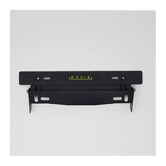 Orbiz Car Number Plate Holder | Orbiz Car Number Plate Adjustable Frame