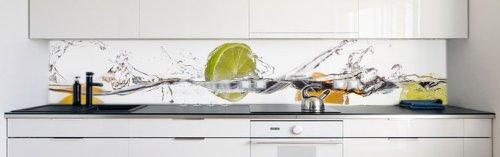 Küchenrückwand ikea  Küchenrückwand Frucht Wasser Premium Hart-PVC 0,4 mm selbstklebend ...