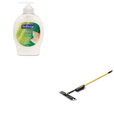 KITCPM26012EARCP3486108 - Value Kit - Light Commercial Spray Mop, 18quot; Frame, 52quot; Steel Handle (RCP3486108) and Softsoap Moisturizing Hand Soap w/Aloe (CPM26012EA)