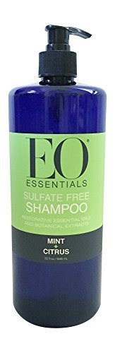 EO Essentials All Natural Shampoo Mint and Citrus 32 ounce