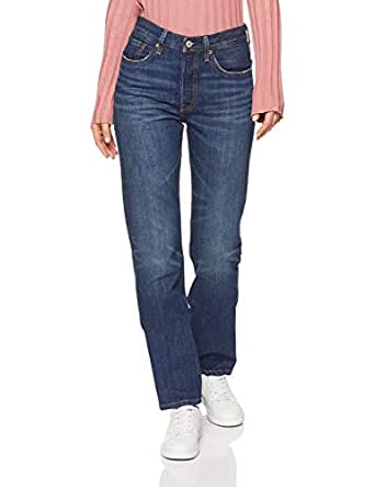 Levi's Women's 501 Jeans for Women, Perfect Storm, 24 32 Blue