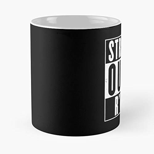 Straight Outta Compton Nwa Cthulhu - 11 Oz Coffee Mugs Unique Ceramic Novelty Cup, The Best Gift For Halloween.