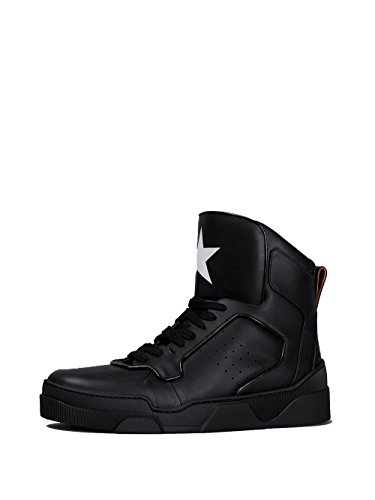 GIVENCHY-MENS-BM08334996001-BLACK-LEATHER-HI-TOP-SNEAKERS