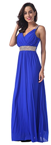 Womens Grecian Style Dress - 6