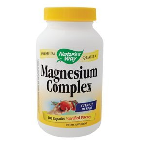 NATURE'S WAY magnésium 500mg 100 CAPS