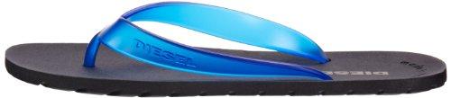 Diesel Men's Plaja Splish Low-Top Slippers Blue (Blue Night) WQzUq
