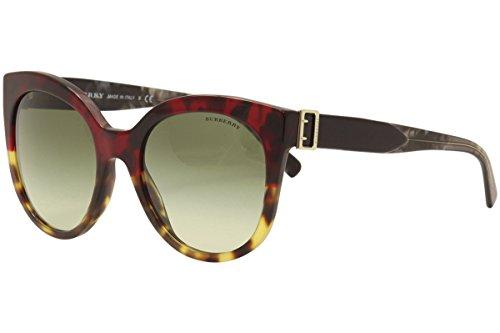 Sunglasses Burberry BE 4243 36358E RED HAVANA/LIGHT - Sunglasses Burberry Red