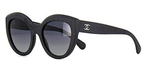 c0aad9f23ab Chanel 5331 OCH C501S8 Matte Black Size 51 Sunglasses - Import It All