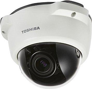 (Toshiba IK-WR04A Outdoor Mini Dome Camera, White (IK-WR04A) )