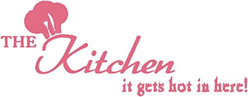 Omega The Kitchen - it gets hot in here! Vinyl Decal Sticker