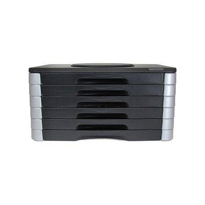 Monitor/Printer 6 Drawer Swivel Stand