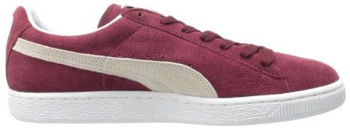 PUMA Adult Suede Classic Shoe Cabernet/White free shipping best prices WX2esayX5