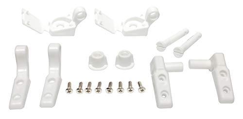 - Plumb Pak PP835-34 Leaf Straight Universal Fit Toilet Seat Hinge, Plastic, 4