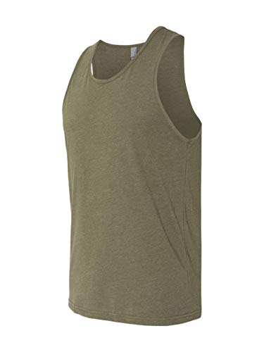 Sublimated Tights (Next Level Men's Rib-Knit Sublimated Muscle Tank Top, X-Large, Military Green)