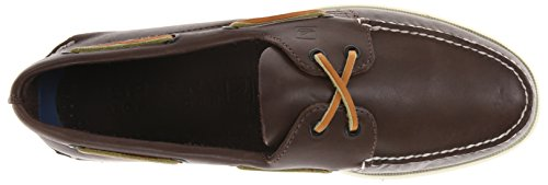 Brown Mocasines A Classic Hombre Eye Leather 0195214 2 para de O Marrón Sperry Cuero OYxww