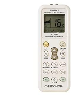 Universal Remote Control for Air Conditioners with