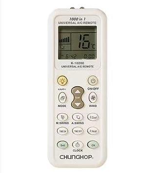 Doutop K 1028E universal LCD A/C Control remoto para aire acondicionado