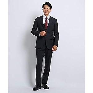 (タケオキクチ) TAKEO KIKUCHI マイクロチェック スーツ 93166304 02(M) チャコールグレー(014)