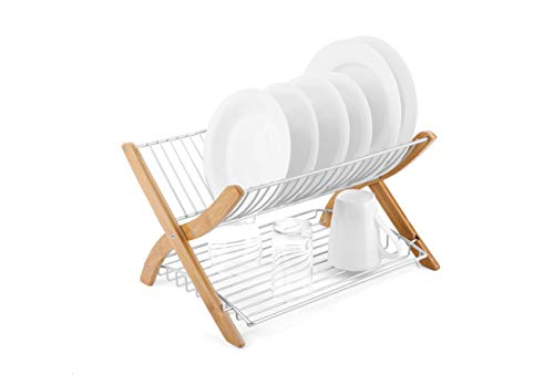 Umbra Dish Drying Rack -  Collapsible Dish Drainer and Folda