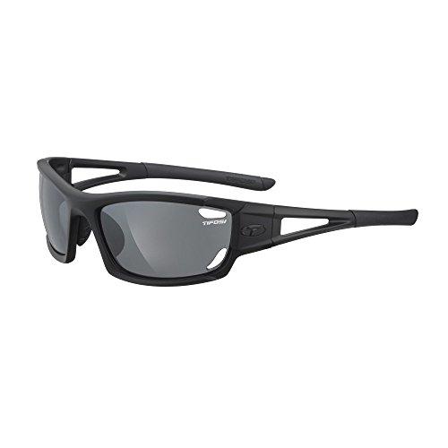 (Tifosi Optics Dolomite 2.0 Interchangeable Lens Sunglasses - Matte Black 1020100101)
