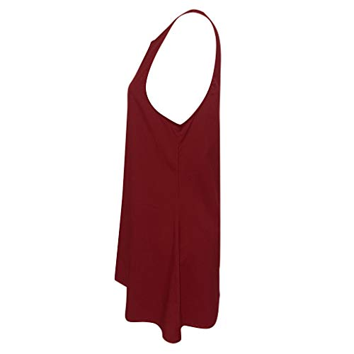 Primavera De Playa Niña Mujer Vestidos Coctel Zolimx Rojo Casual Verano Fiesta Largo Elegante Ropa Elegantes nvR04qf