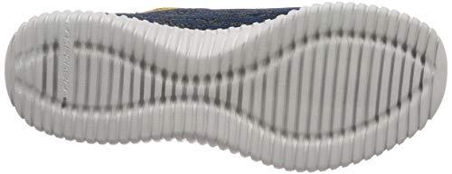amarillo Marino Zapatillas Flex hartnell Cordones Para Hombre Elite Skechers Azul Sin zqwvn