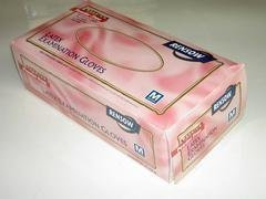 RENSOW Latex Exam Gloves - Powder Free – Medium 10 Boxes of 100
