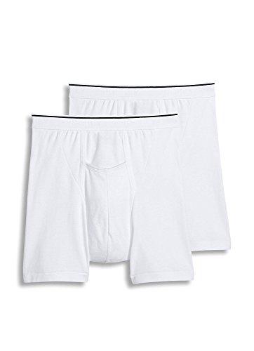 Mens White Pouch Briefs - 6