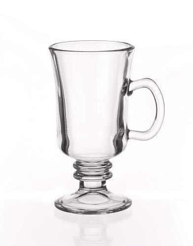 Emh Set Of 6 Irish Coffee Glasses 200 Ml Amazoncouk