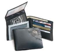 Black Billfold Metal Black Wallet Billfold Wallet Logo 0PwAq8aW