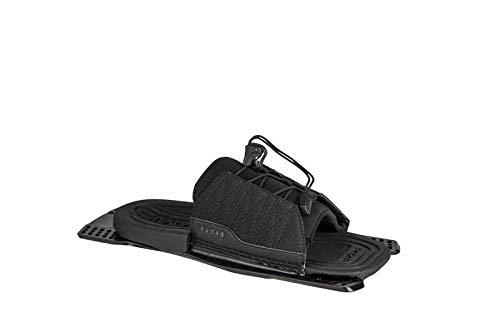 Radar Water Ski Adjustable Rear Toe - Black - Feather Frame (2019) by Radar (Image #1)