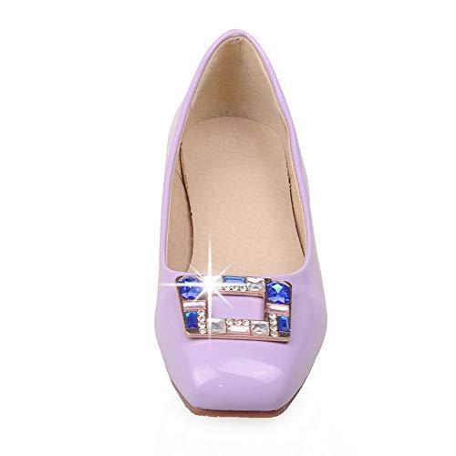 Compensées Violet Femme Violet 36 MMS06231 5 1TO9 Sandales Inconnu UFnqP4Sw
