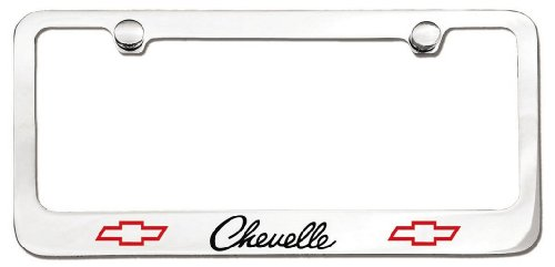 The Car Guy Superstore Chevrolet Chevelle License Plate Frame